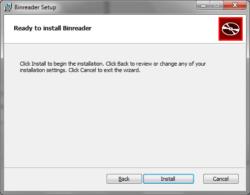 binreader install