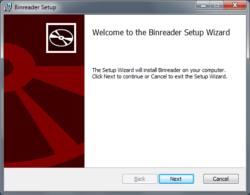 binreader setup