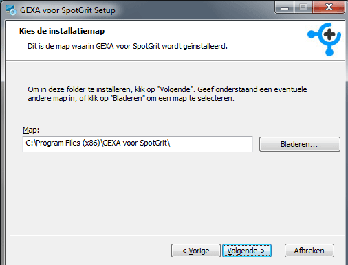 spotgrit-gexa-plugin-installeren
