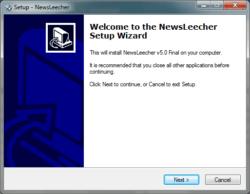 newsleecher-install