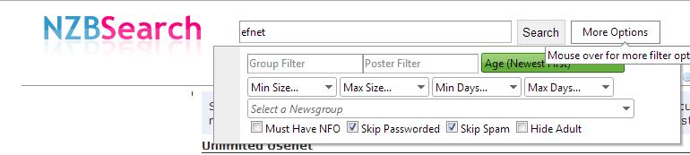 Nzbsearch.net NZB bestanden zoeken en downloaden