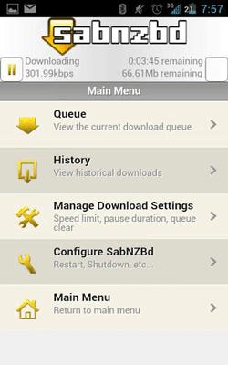 Nzb downloader voor android