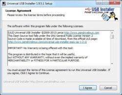 Universal USB Installer gebruiken