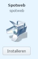SpotWeb installeren Synology