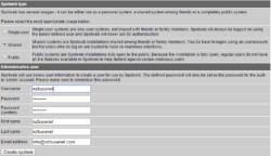 spotweb-account-synology