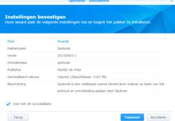 spotwen-installatie-synology