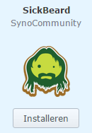 synology sickbeard installeren synology