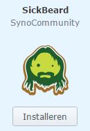 synology sickbeard installeren synology