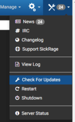 sickrage-updaten-synology