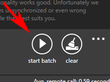 start batch sublight ondertiteling