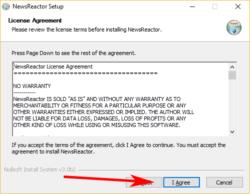 NewsReactor-installeren-license