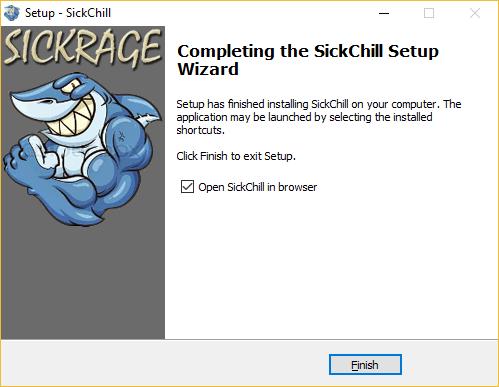 Start SickChill