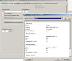 Usenet collector download server