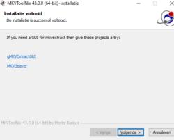 Complete MKVToolNix Install