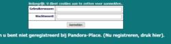 pandora-place login