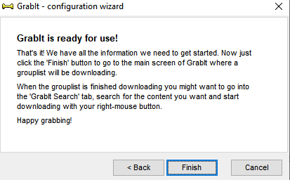 Grabit ready to use.